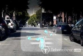Navdy превратит лобовое стекло авто в интерактивный дисплей